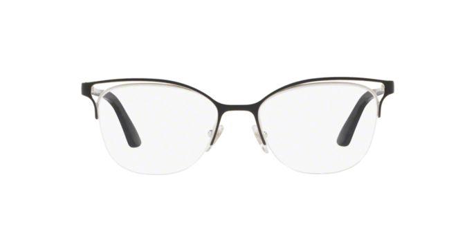 Óculos Feminino Vogue VO 4087l 352 Metal Preto com Fio de Nylon