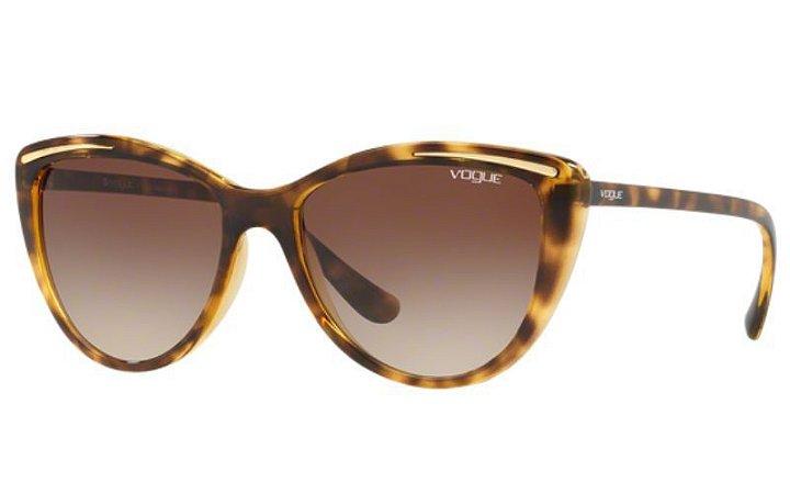 Óculos Feminino Vogue vo 5220sl w65613 Tartaruga com lente marrom