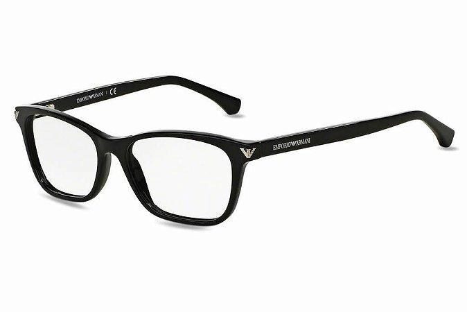 Óculos Feminino Emporio Armani 3073 5017 Preto