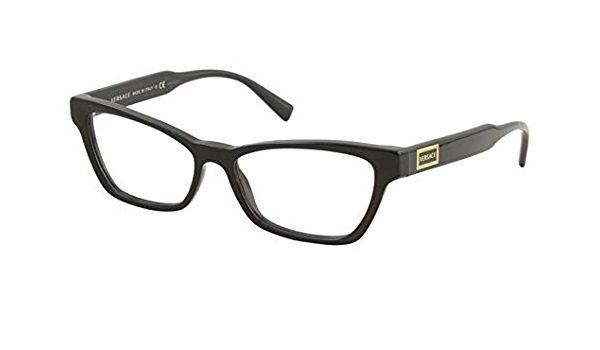 Óculos Feminino Versace 3275 gb1 Preto gatinho