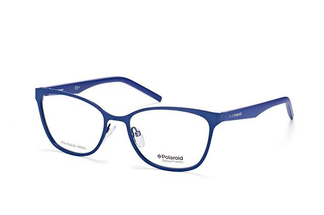 Óculos Feminino Polaroid pld d327 pjp Azul em metal