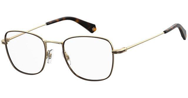 Óculos Masculino Polaroid d377 g 01q Marrom com dourado