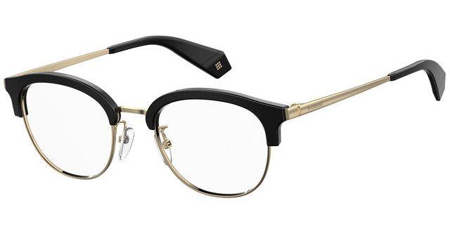 Óculos Feminino Polaroid PLD D368F 2M2 Preto com Dourado