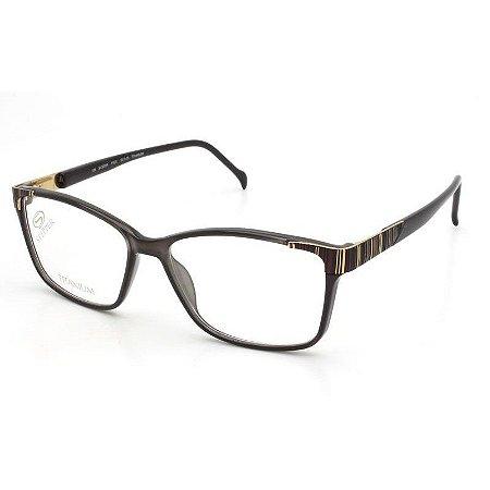 Óculos Stepper si 30094 f920 Titanium Marrom