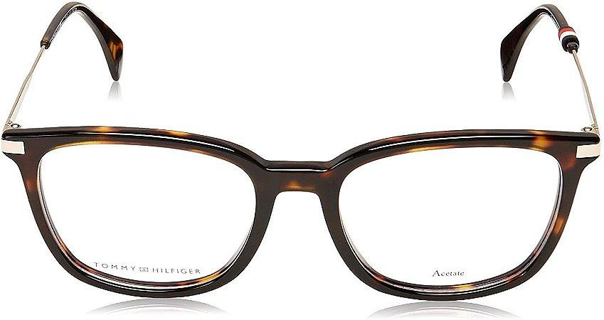 Óculos Feminino Tommy Hilfiger th 1558 086 Tartaruga quadrado