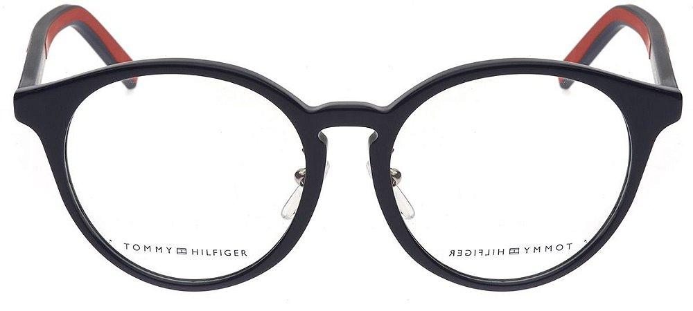 Óculos Tommy Hilfiger th 1579/f pjp Azul e vermelho
