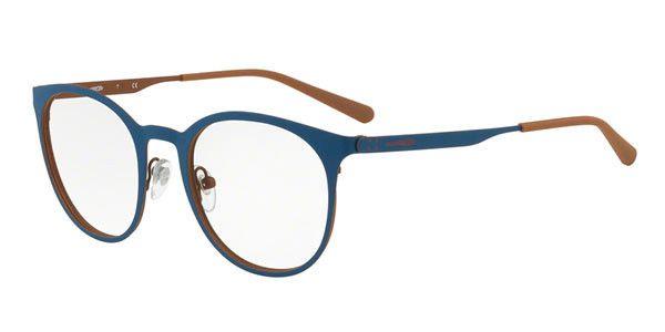 Óculos Masculino Arnette Metal WOOT R 6113 689 Azul com Marrom