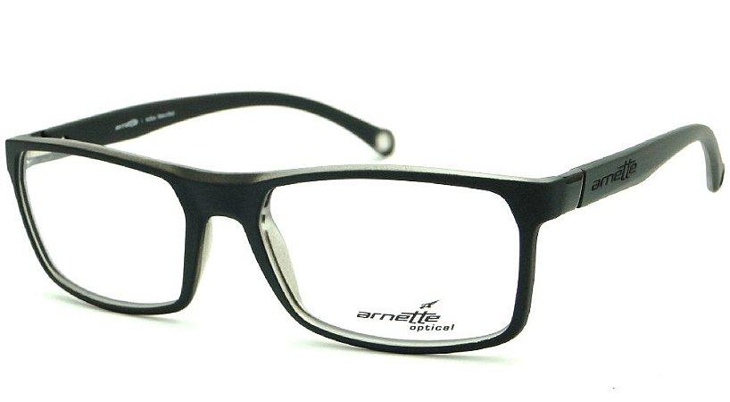 Óculos Masculino Arnette AN 7075L 2216 Preto com Grafitti