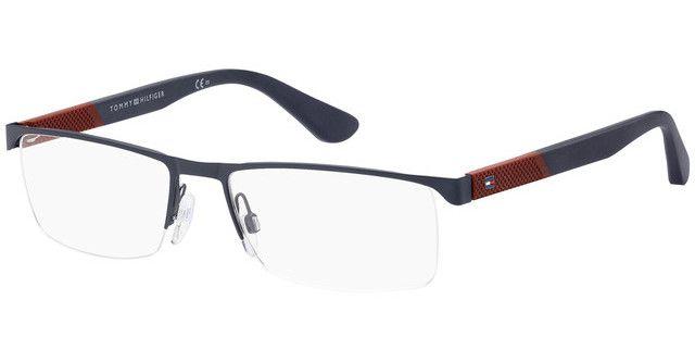 Óculos Tommy Hilfiger TH 1562 FLL Azul e Vermelho