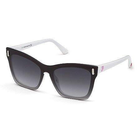 Óculos Solar Victoria's Secret Pink PK 0035 21B Preto e Branco