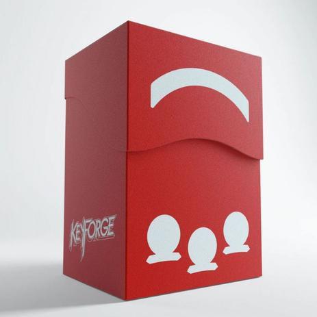 Keyforge GEMINI Deck Box - Vermelho