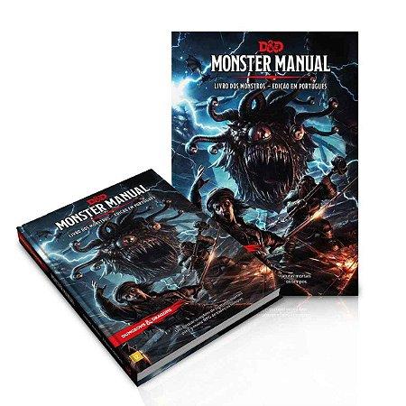 Livro Dungeons & Dragons Manual Dos Monstros Português RPG