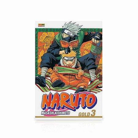 Mangá - Naruto Gold - Vol.3
