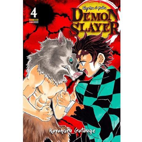 Mangá - Demon Slayer - Vol.4