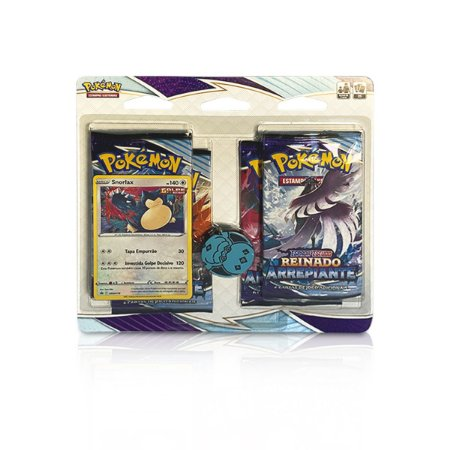 Pokémon - Four Pack + Moeda - Reinado Arrepiante (Snorlax)