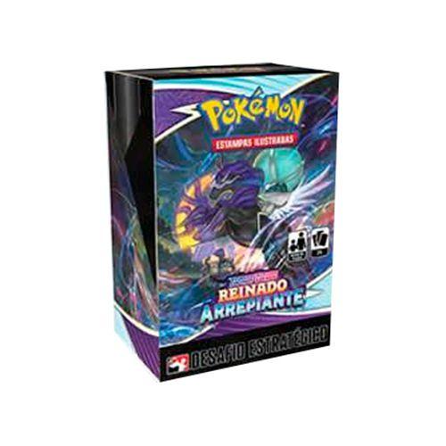 Pokémon - Kit Pré-Lançamento (Desafio Estratégico) - Reinado Arrepiante