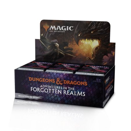 Booster Box Magic Dungeons & Dragons - Adventures in the Forgotten Realms PTBR
