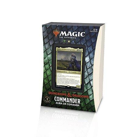 Magic - Dungeons & Dragons: Adventures In The Forgotten Realms - Commander: Aura De Coragem