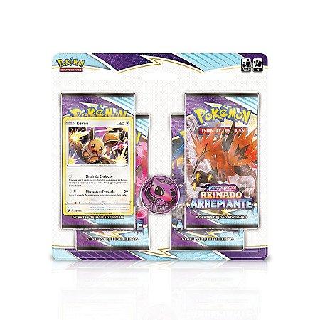 Pokémon - Four Pack - Reinado Arrepiante: Eevee