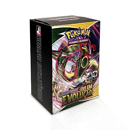 Kit de Pré-Lançamento Pokémon: Desafio Estratégico - EE7 Céus em Evolução