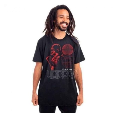 Camiseta Star Wars Darth Vader Preta
