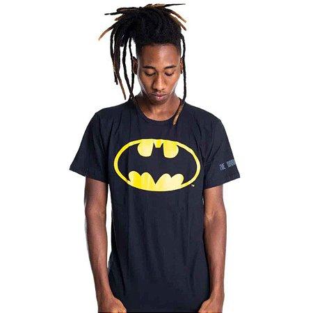 Camiseta Batman Logo Classico Preta