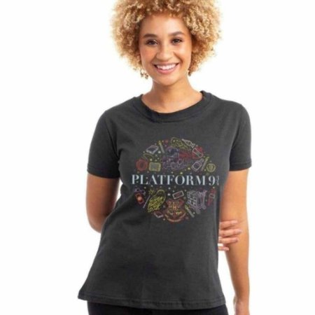Camiseta Harry Potter Plataforma 9 3/4 Baby Look