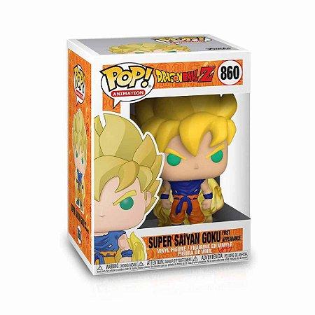 Funko Pop 860 - Dragon Ball Z Super Saiyajin Goku Primeira Aparência