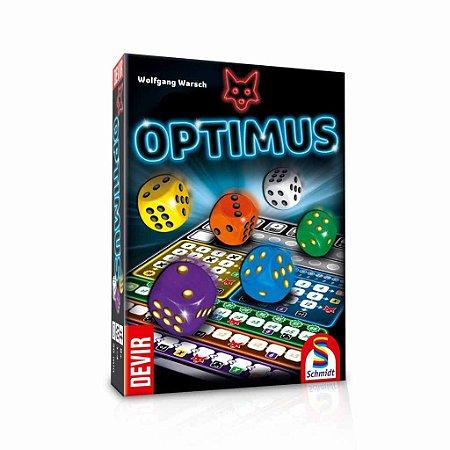 Optmus Jogo de Tabuleiro de Dados (Melhor Jogo Estratégico do ano)