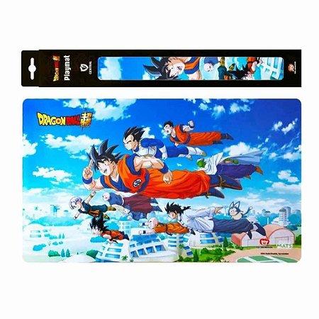 Tapete de Duelo - Playmat Dragon Ball Super Passeio Voador