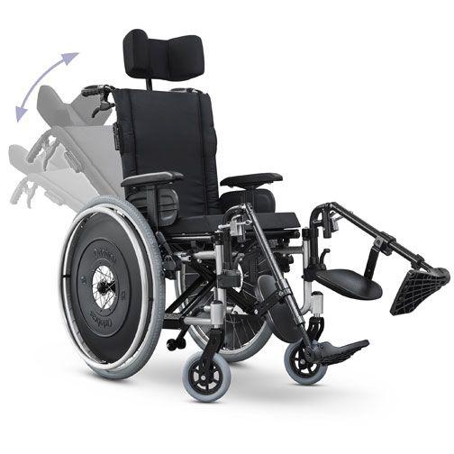 Cadeira de Rodas Alumínio AVD Reclinável Ortobras