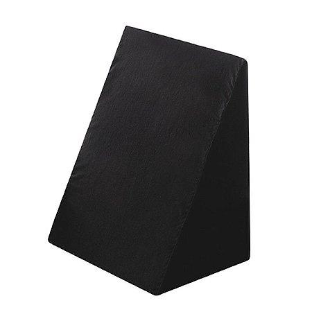 Travesseiro Triangular Meu Conforto Perfetto Preto