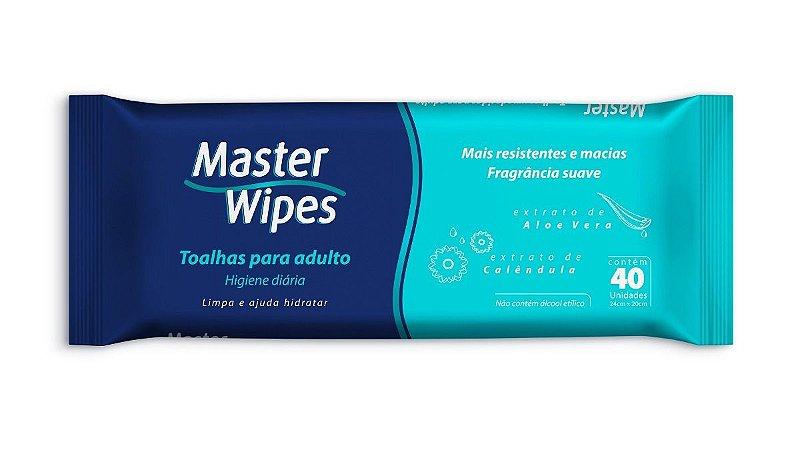 Toalha Umedecida Master Wipes