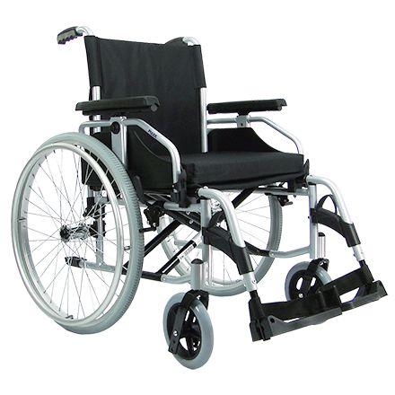 Cadeira de Rodas Praxis Série Europa Munique Preta