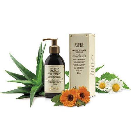 Regenèr Emulsão Hidratante de Aloe para Peles Secas