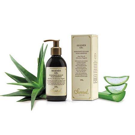 Regenèr Gel Hidratante de Aloe para Peles Sensíveis