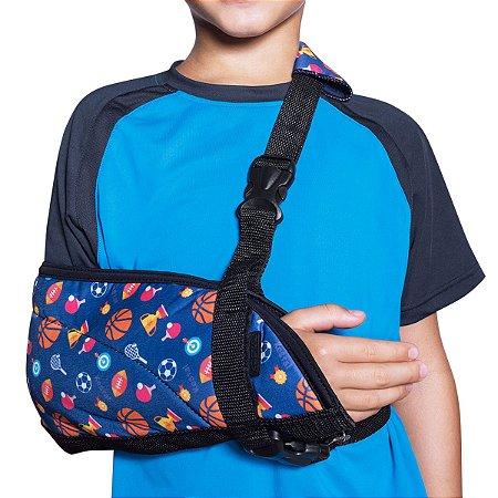 Tipóia Ortopédica Infantil Masculina Kestal Azul