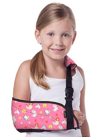 Tipoia Ortopédica Infantil Feminina Kestal Rosa