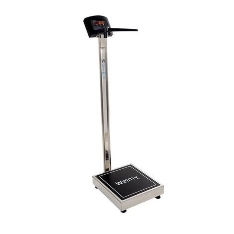 Balança Antropométrica Digital 200 Kilos Divisão 50 g W-200/50 A Inox Welmy