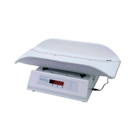 Balança Infantil Antropométrica Digital 15kg Divisão 5g Concha Injetada 109-E LED Welmy