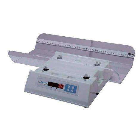 Balança Infantil Antropométrica Digital 15kg Divisão 5g Concha Acrílica 109-E Acrilico Welmy