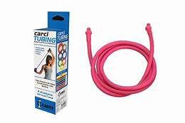Carci Tubing Tubos Elásticos para Alongamento e Exercícios Rosa Carci