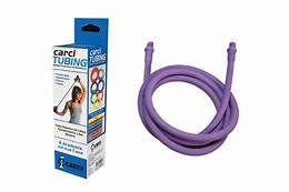 Carci Tubing Tubos Elásticos para Alongamento e Exercícios Roxo Carci