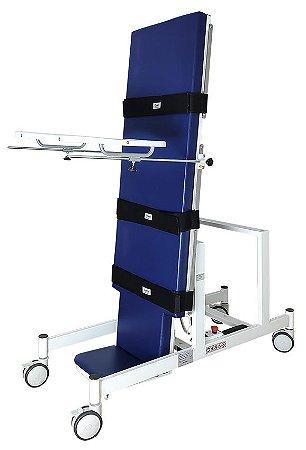 Mesa Ortostática para Tetraplégicos Motorizada 1 Motor Regulável em Inclinação Bivolt Carci