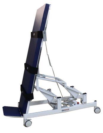 Mesa Ortostática para Tetraplégicos Motorizada 2 Motores Regulável em Inclinação Bivolt Carci