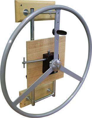 Roda de Ombro Cromada para Fisioterapia Carci