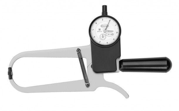 Adipômetro Plicômetro Científico Tradicional com Maleta para Transporte Cescorf