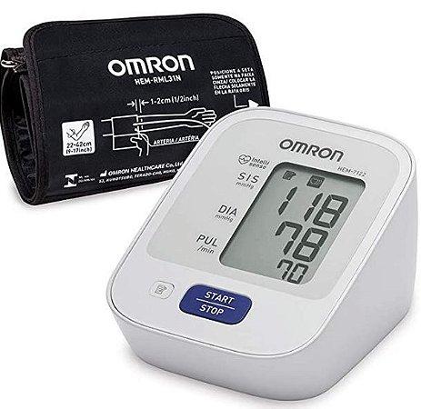 Monitor de Pressão Arterial de Braço Control + HEM 7122