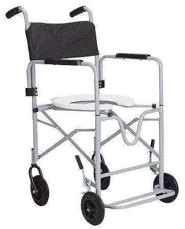 Cadeira de Banho Dobrável para Idosos ou Enfermos com Braços Removíveis CDS