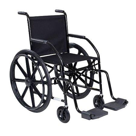 Cadeira de Rodas para Obeso com Pneus Maciços 100kg 101 CDS